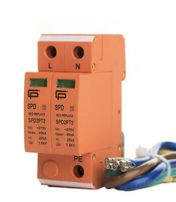 Fusebox Surge Protection Device Kit Type 2 Spd Spd2Pt2
