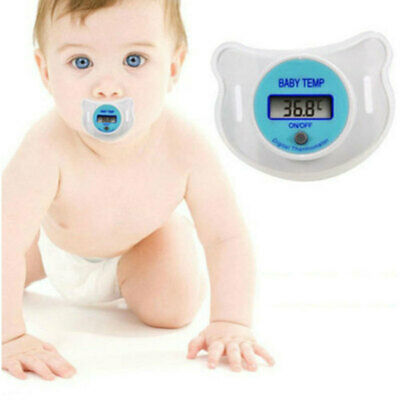 1Pcs Digital Safety Mouth Nipple Temperature Baby LCD Pacifier Thermometer