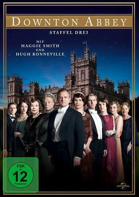 DOWNTON ABBEY, Staffel 3 (Maggie Smith) 4 DVDs NEU+OVP