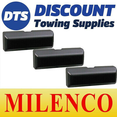 Milenco Ford Transit Connect Black Van Door Security Dead Lock Matched Keys X3