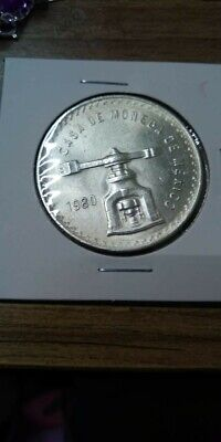 Mexican Silver .925 silver.,One Ounce troy, 33.625 gms  1980 coin