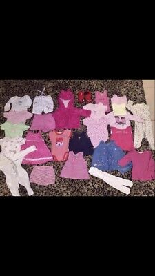22 Bulk Baby Clothes  3-6 Month Size 000