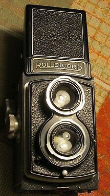 Rolleicord Art Deco Rollei TLR Camera 1930-s pre- or WWII Period