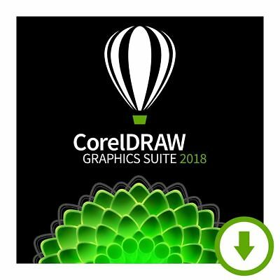 CorelDRAW Graphics Suite 2018 | Official Download | Lifetime License Key