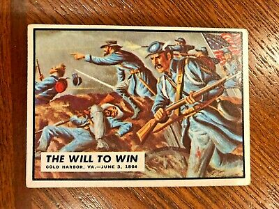 1962 Topps Civil War News #68 The Will to Win