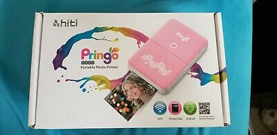 Hiti Pringo P231 Portable WiFi Mini Smartphone Photo Printer - White version