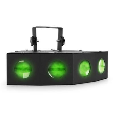 Beamz Mini Led Quadruple Moonflower Jeu De Lumière