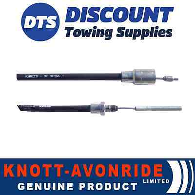 Genuine Knott Detachable Trailer Brake Cable 1230mm - 1440mm - 33921.1.14 x 1