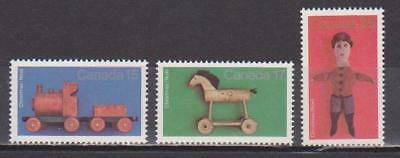 1979 Canada SC# 839-841 - Christmas Antique Toys Lot# 109 M-NH