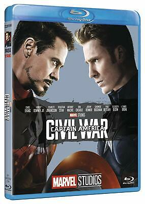 Captain America - Civil War - Marvel 10° Anniversario (Blu-Ray Disc)