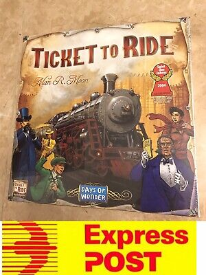 Excellent Board Game: Ticket To Ride Origin Edition , Mel Stock, Express Post
