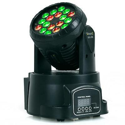 Moving Head Led Beamz Lyre Movinghead Scanner Lumiere Disco Spot 12/4 Canaux Dmx