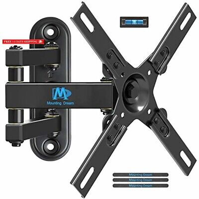 Mounting Dream MD2463-L TV Wall Mount Monitor Bracket with Full Motion Articulat