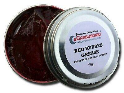 Red Rubber Grease Brake Caliper Grease hydraulic lubrication rubber safe 50 gm