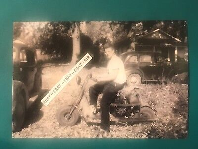 Found 4x6 Photo Of Old Cushman Motor Scooter 396 Picclick