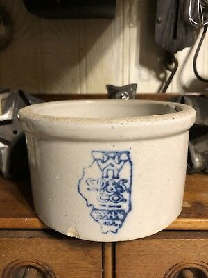- White Hall 1# Map Stamped Butter