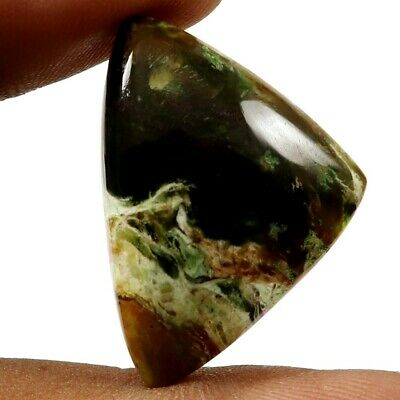 Opalised Serpentine Natural Cabochon Fancy Loose Gemstone 25.75cts GQ59
