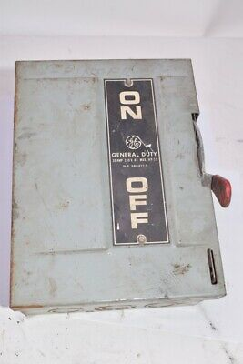 Honeywell, General Electric 266211 Safety Switch 30AMP 240VAC 7.5HP