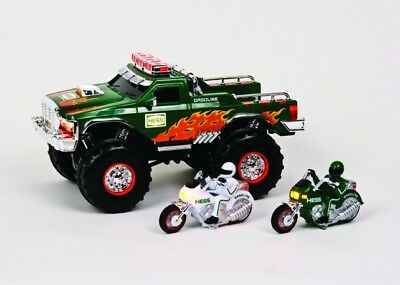 Hess 2007 Toy Truck  Monster Truck With Motorcycles  New