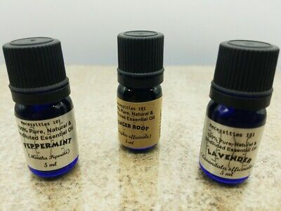 5ml Essential Oils Undiluted 100% Pure & Natural. Huge selection.Buy more & Save