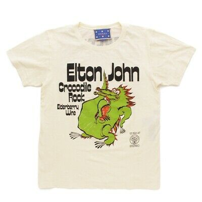 0df381865 Authentic Gucci Men's 2018 Elton John Crocodile Print T-Shirt Xs Gr A Used -
