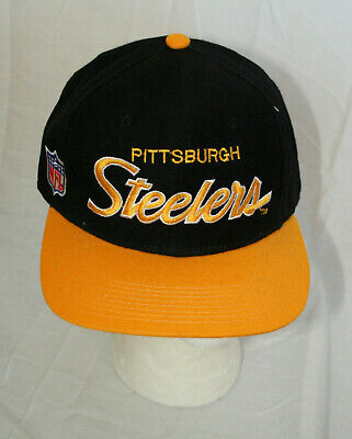 Pittsburgh Steelers NFL Football Team Cap Hat Tags NOS size 7 New NOS 1990s  wool 5ad6fd533