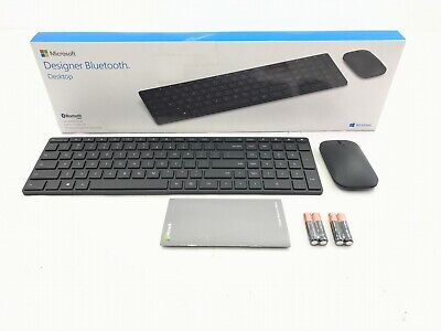 dcdf8be52e4 Microsoft Designer Wireless Bluetooth Desktop Keyboard and Mouse (7N9-00001)