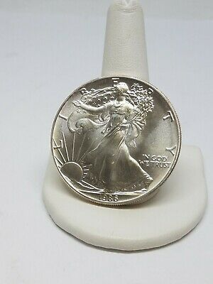 1986 One Ounce American Silver Eagle