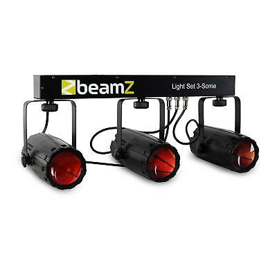 BeamZ 3 Some Set d'effets de lumière LED - Beamz 3 voudige LED-lichteffect-set