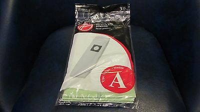 "3-Pack Hoover Style ""A"" Top Fill Replacement Vacuum Cleaner Bags"