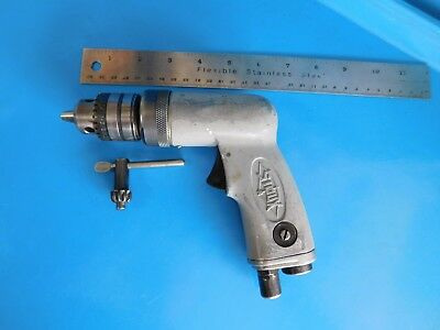 Used,  Sioux 3/8 In. Air Drill , Jacobs Chuck