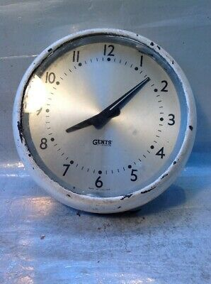 Old Gents Bakelite Wall Clock - Train Station - Factory - School - Post Office
