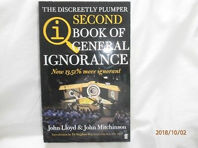 The Discreetly Plumper Book QI: The Second Book of General Ignorance by John Llo