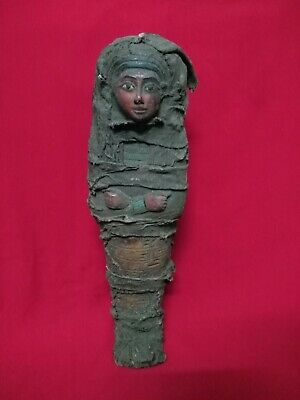Ancient Egyptian Antiquities Ushabti  (500 BC)
