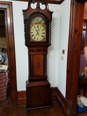 Antique Victorian Welsh Longcase Grandfather Clock