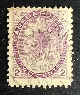 Canada 76a Thick Paper Used (Lot DJG)