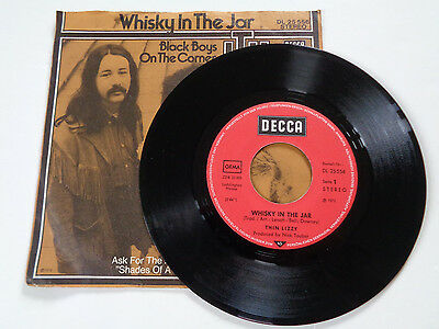 """Thin Lizzy Whisky In The Jar German 7"""""""