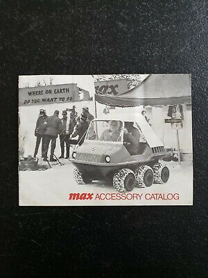 Vintage MAX 6 Wheel ATV Accessory Catalog