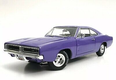 1969 Dodge Charger 1/18 Ertl American Muscle 1 Of 1 Custom 1 Of 1 Costumer Car