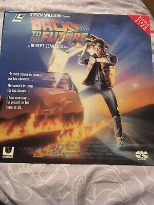 Back To The Future - LaserVision Disc