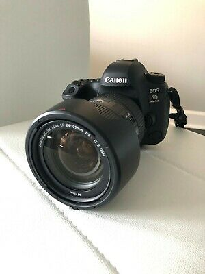 Canon EOS 6D Mark II 26.2MP Digital SLR Camera - Black (Kit w/ EF 24-105mm f/4L