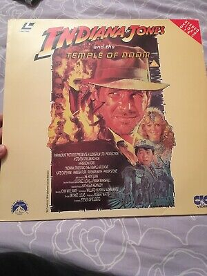 Indiana Jones And The Temple Of Doom - LaserVision Disc