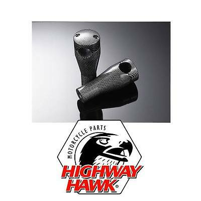 "Riser Set Highway Hawk Carbon Look 4""/M12 Harley-Davidson Custom Carbonio"