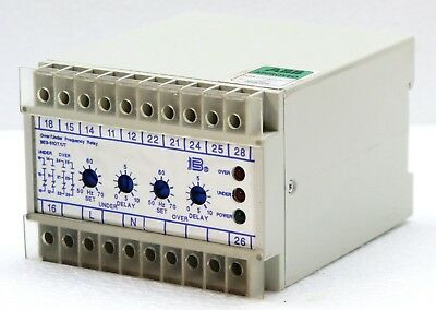 Basler Electric Be3-81Ot/ut-1A4N3 Over Under Frequency Relay  9323000102