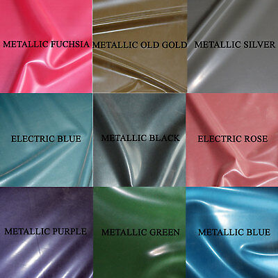 0.25mm Gauge Metallic/Electric Sheet Latex/Rubber by Continuous Metre, 1m Width
