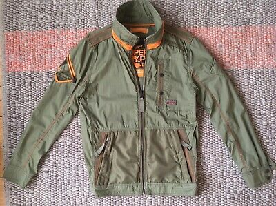 MINT-Superdry Ltd. Edition Ultimate Service Jacket Lite Worn Twice S=L RRP £115