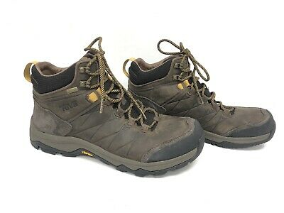 e4d5fc9913f TEVA MEN'S ARROWOOD Riva Mid Waterproof Boots Turkish Coffee 1018741 Leather