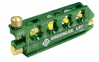 GREENLEE Laser Level  with Rare Earth Magnets L97- Free Shipping