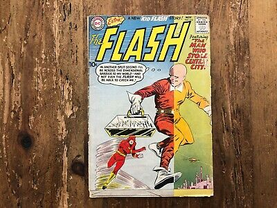 THE FLASH  #116  DC COMICS  1960  EARLY KID FLASH STORY Combine Shipping A