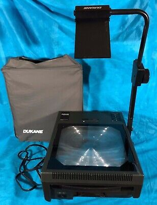 Dukane Model 4003 Audio Visual Professional Overhead Projector Works Orig Cover